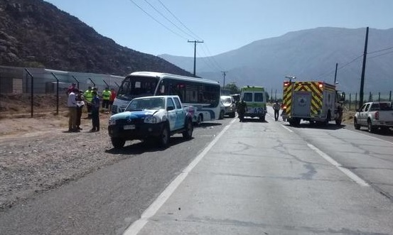 Buses Puma Accidente